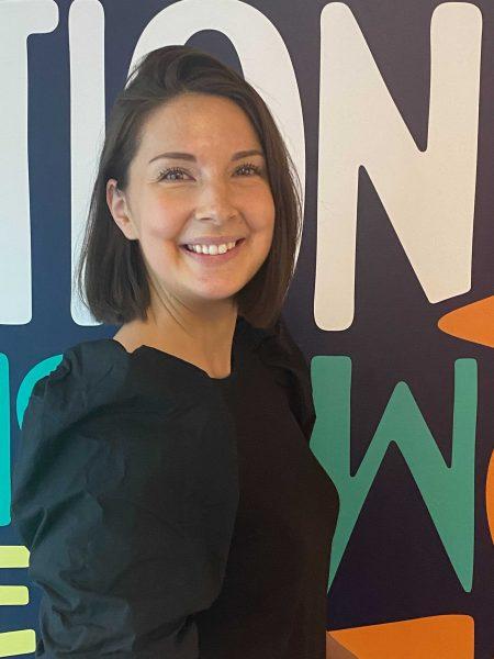 Angelica Törnros Gerami jobbar inom rekrytering på One Agency