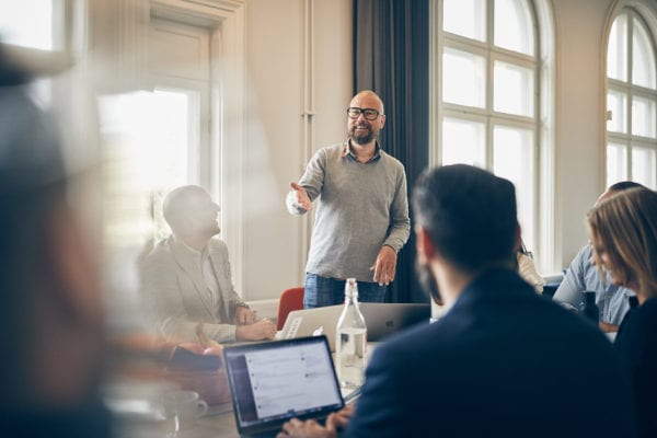 Kreativt möte på One Agency